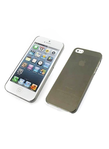 Microsonic iPhone  5 & 5S Ultra Thin 0.2Mm Kılıf Siyah Renkli